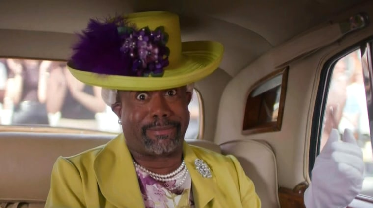 Darius Rucker as Queen Elizabeth II