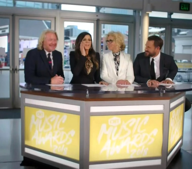 Little Big Town as the parody roayl wedding anchors