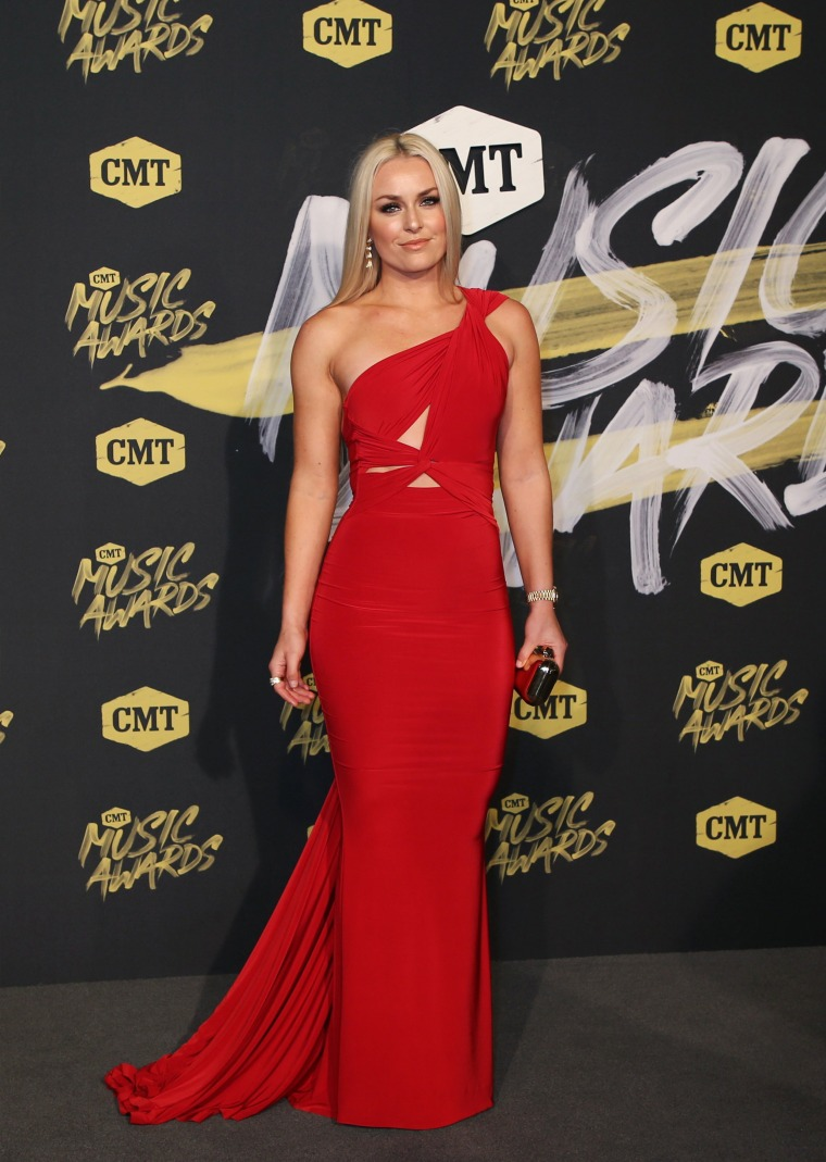 Lindsey Vonn 2018 CMT Music Awards