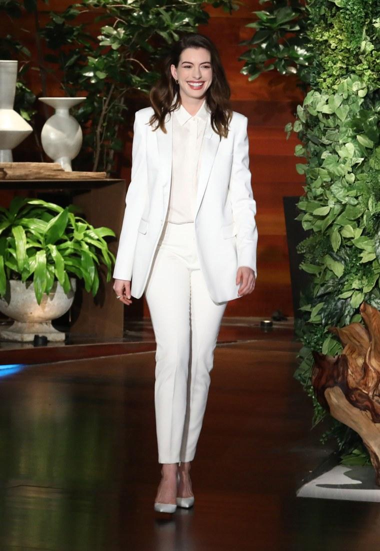 Anne Hathaway on Ellen