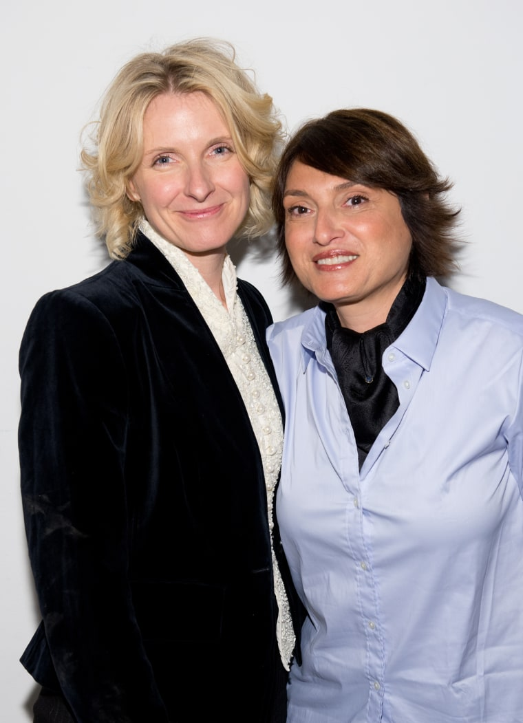 Elizabeth Gilbert and partner Rayya Elias