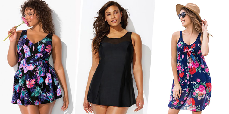 Swim dresses for extra coverage