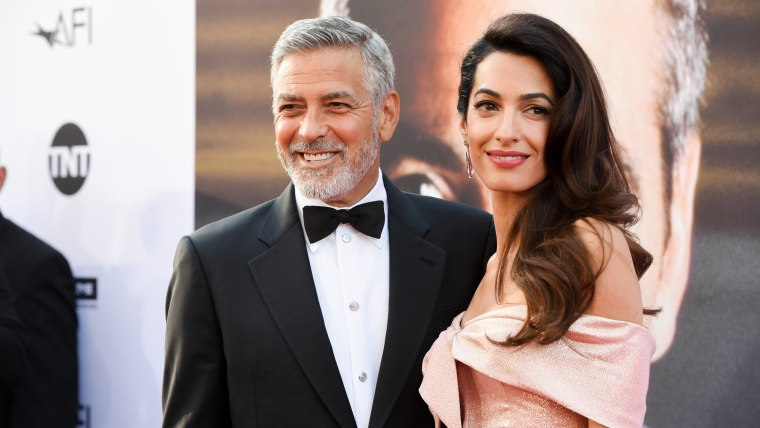 George Clooney and Amal Clooney: 2018 AFI Life Achievement Award Gala