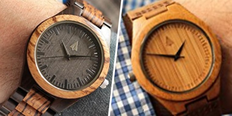 da8e3050d4 This wooden watch is one of the best gifts I ve given my husband