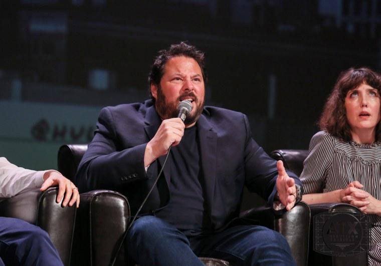 "Greg Grunberg and Amanda Foreman played Sean and Meghan on ""Felicity."""