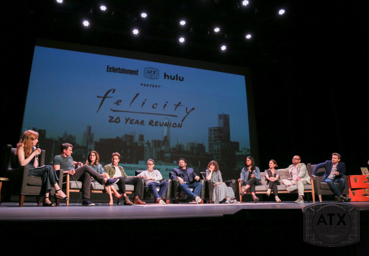 "The entire ""Felicity"" cast gathered at the ATX Festival"