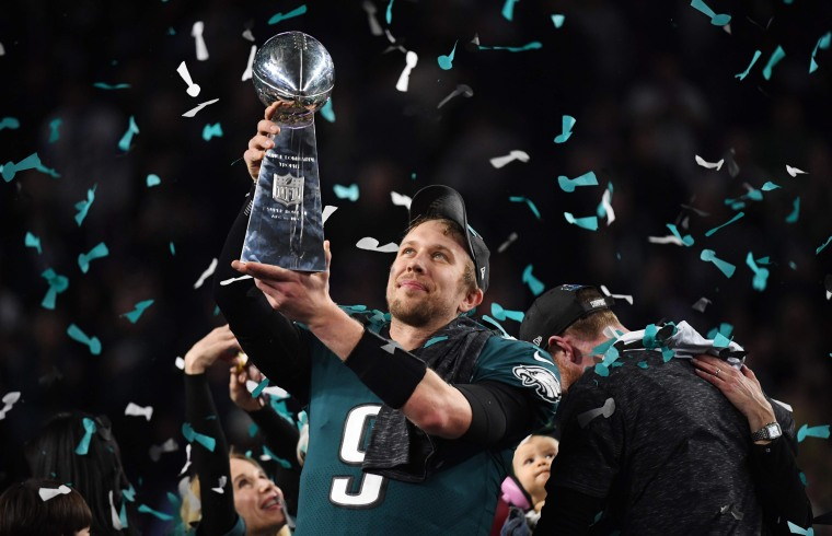 Image: Philadelphia Eagles quarterback Nick Foles