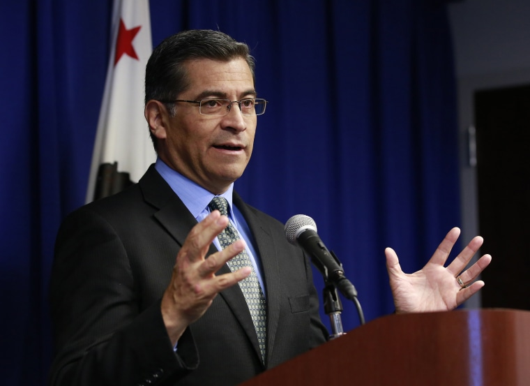Image: California Attorney General Xavier Becerra