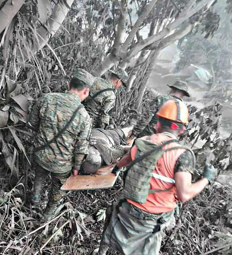 Image: Guatemala's Fuego volcano