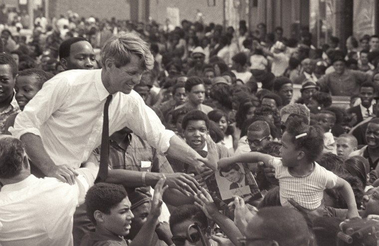 Image: Robert Kennedy Campaigns In Detroit
