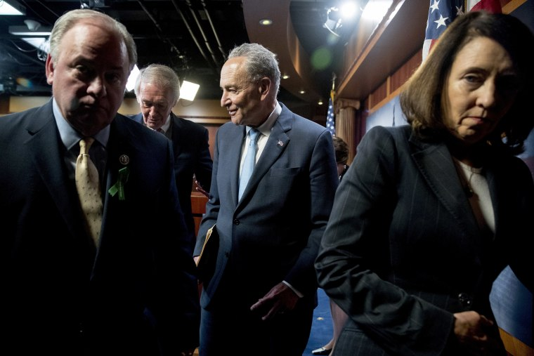 Image: Chuck Schumer, Mike Doyle, Ed Markey, Maria Cantwell