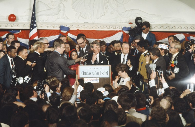 1968 California Primary: Assassination of Robert F. Kennedy