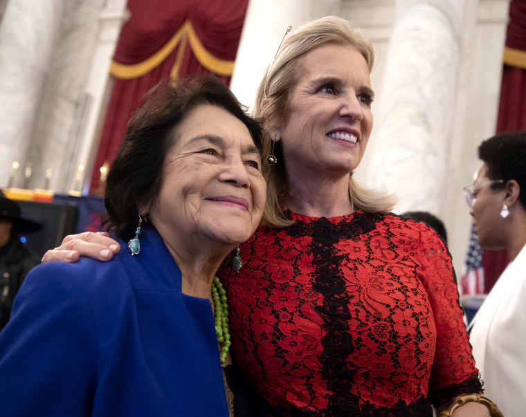 Image: Kerry Kennedy, Dolores Huerta