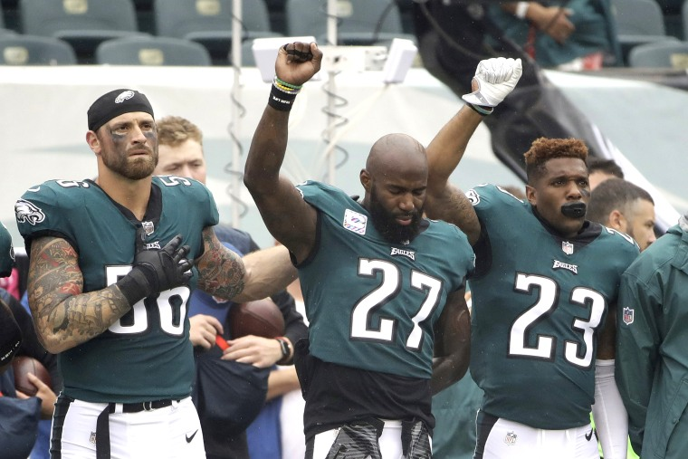 Malcolm Jenkins,Rodney McLeod,Chris Long