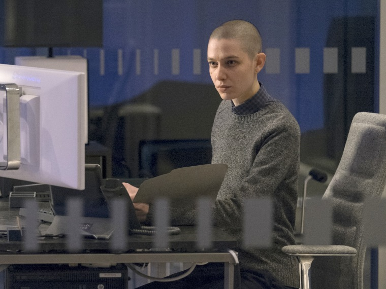 Image: Asia Kate Dillon as Taylor in Billions.