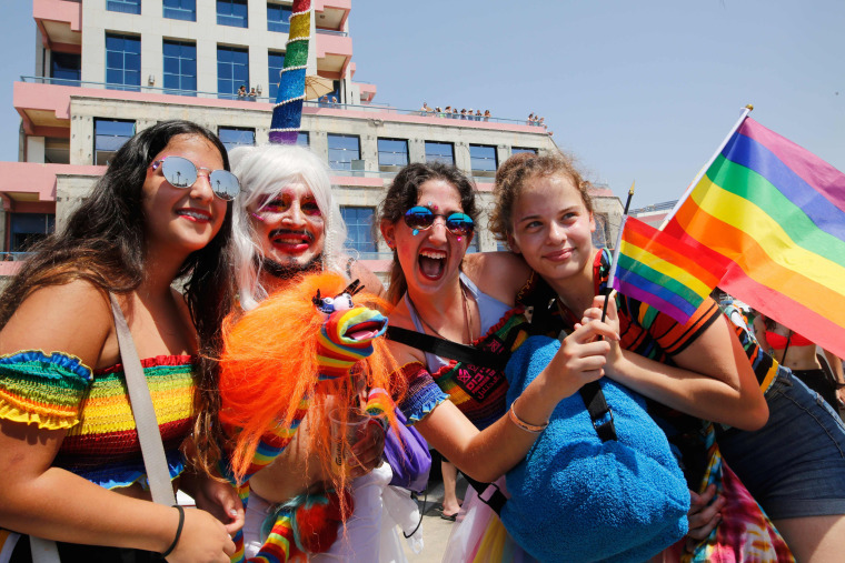 Image: Tel Aviv pride parade
