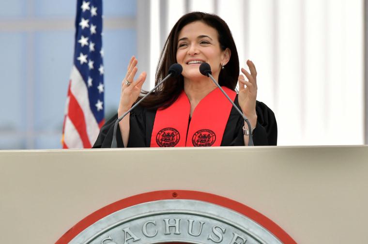 Image: Sheryl Sandberg MIT Commencement Address
