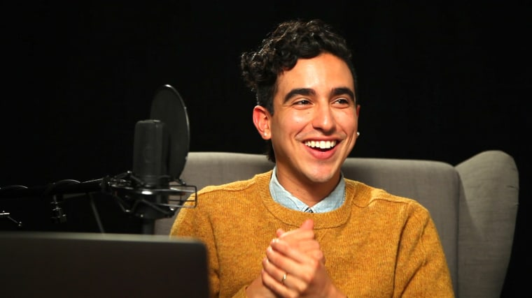 Liberal podcast host and LGBTQ advocate Dylan Marron.