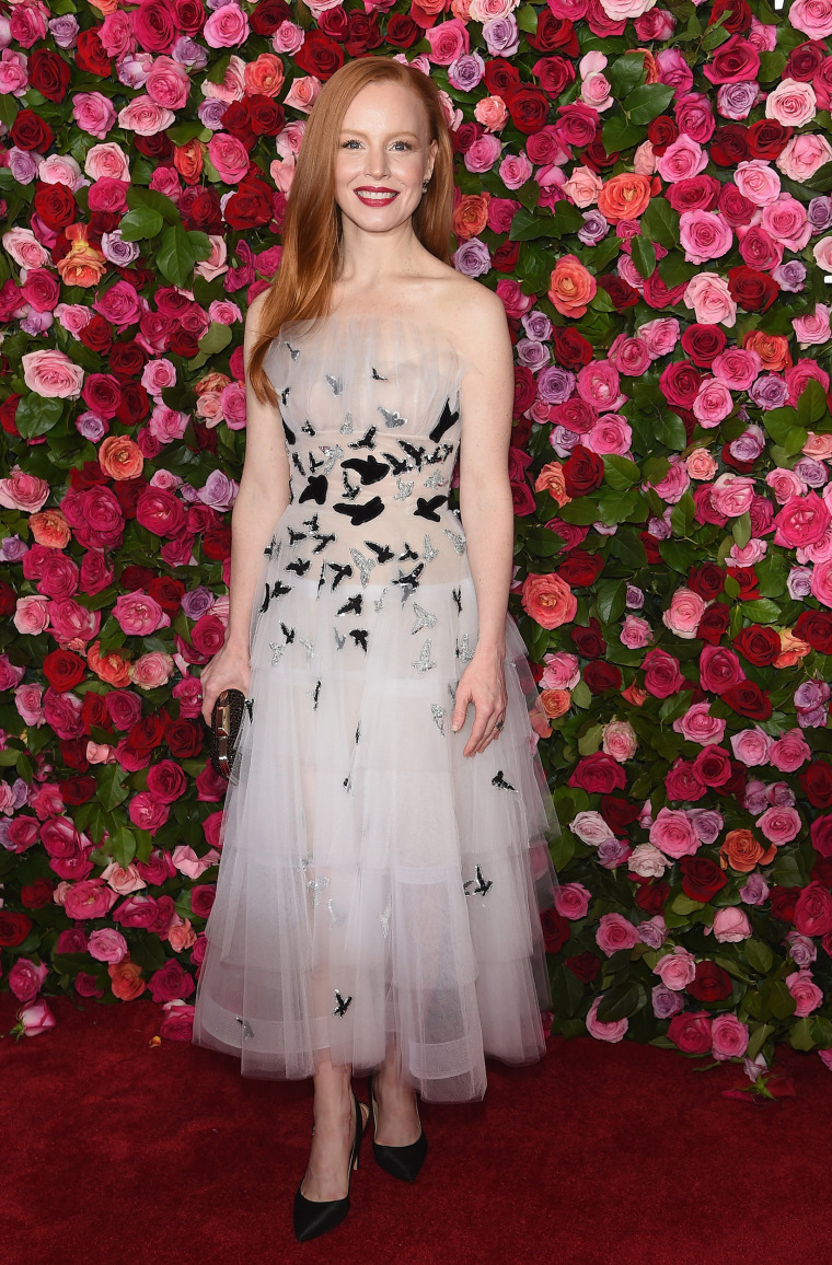 Lauren Ambrose attends the 72nd Annual Tony Awards