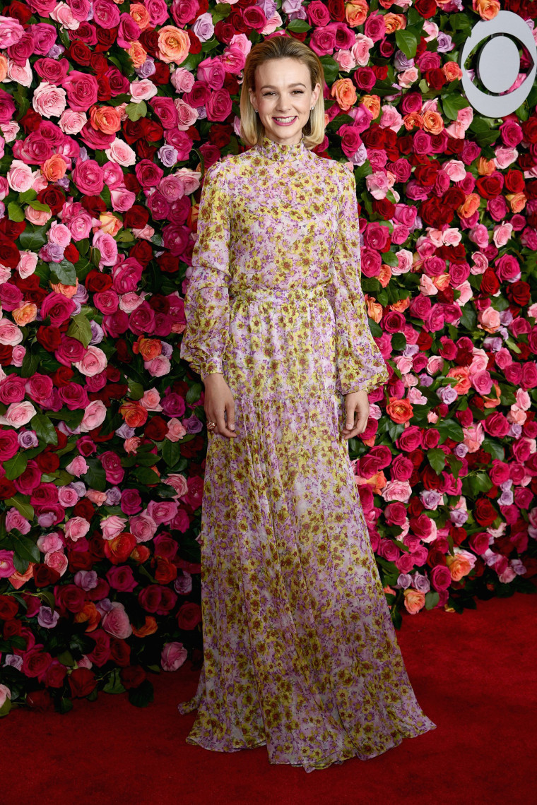 Carey Mulligan attends the 72nd Annual Tony Awards