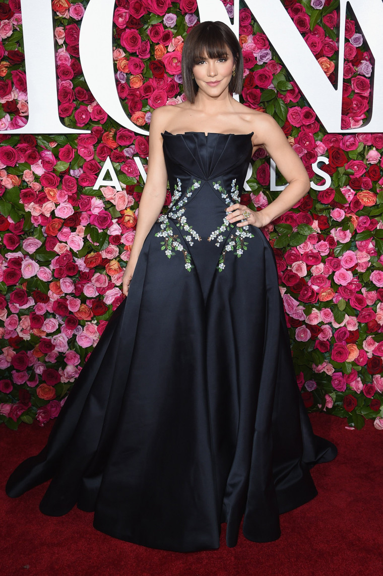Katharine McPhee attends the 72nd Annual Tony Awards