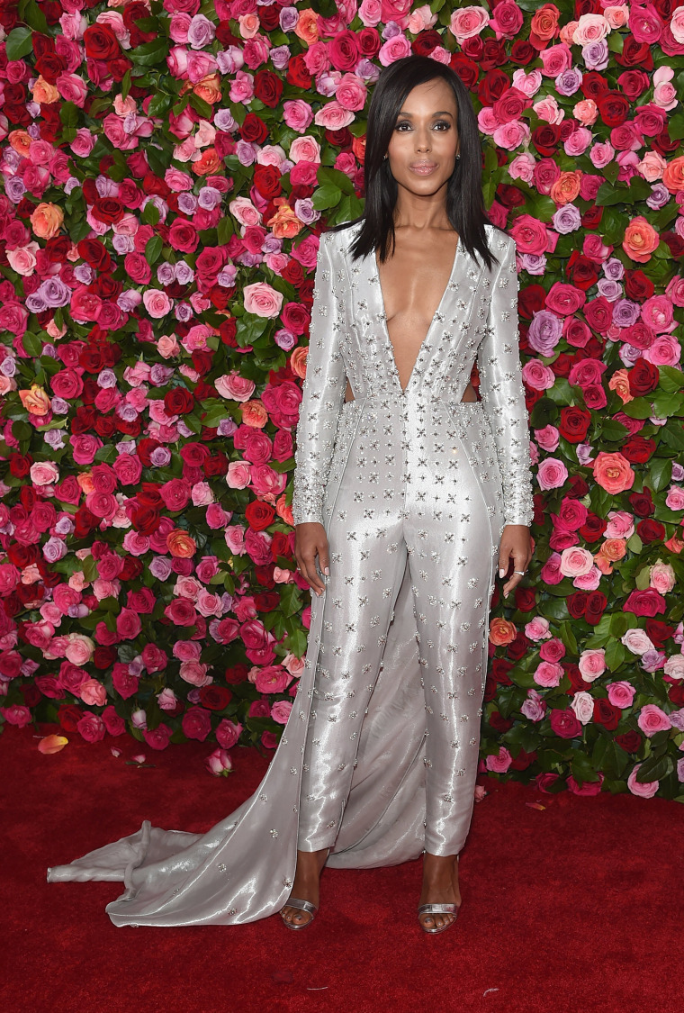 Kerry Washington attends the 72nd Annual Tony Awards