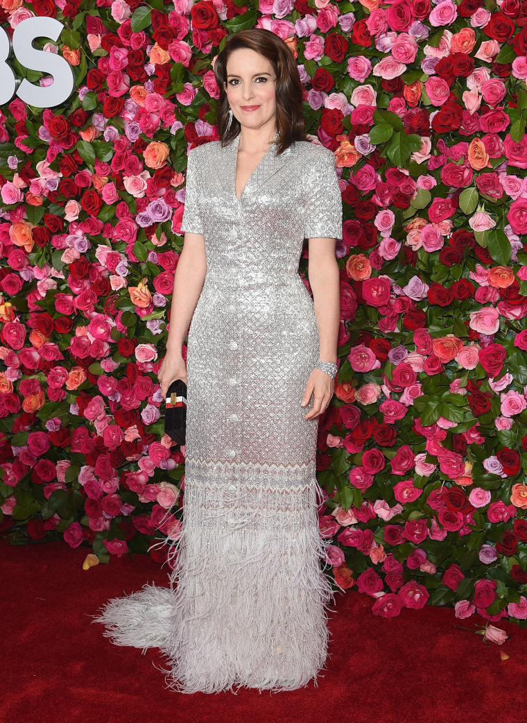 Tina Fey attends the 72nd Annual Tony Awards