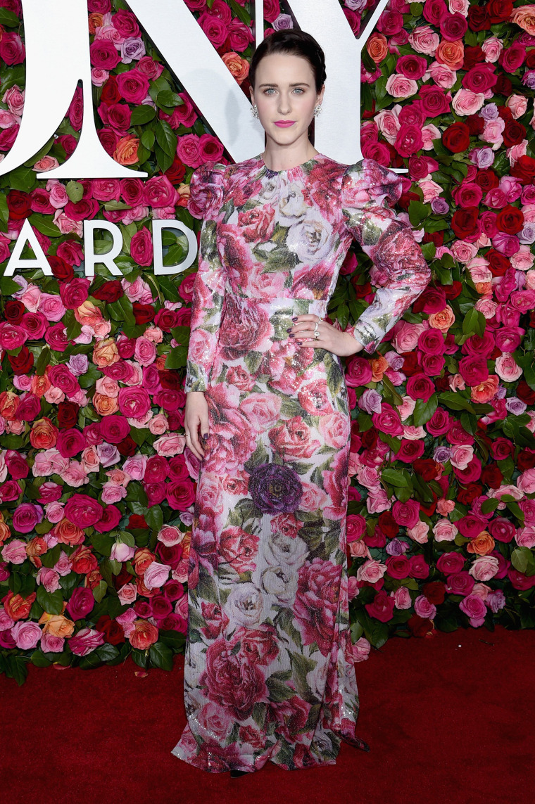 Rachel Brosnahan attends the 72nd Annual Tony Awards