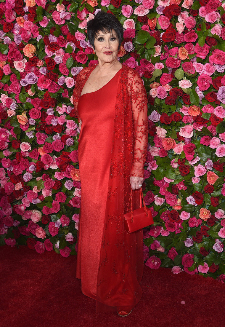 Chita Rivera attends the 72nd Annual Tony Awards