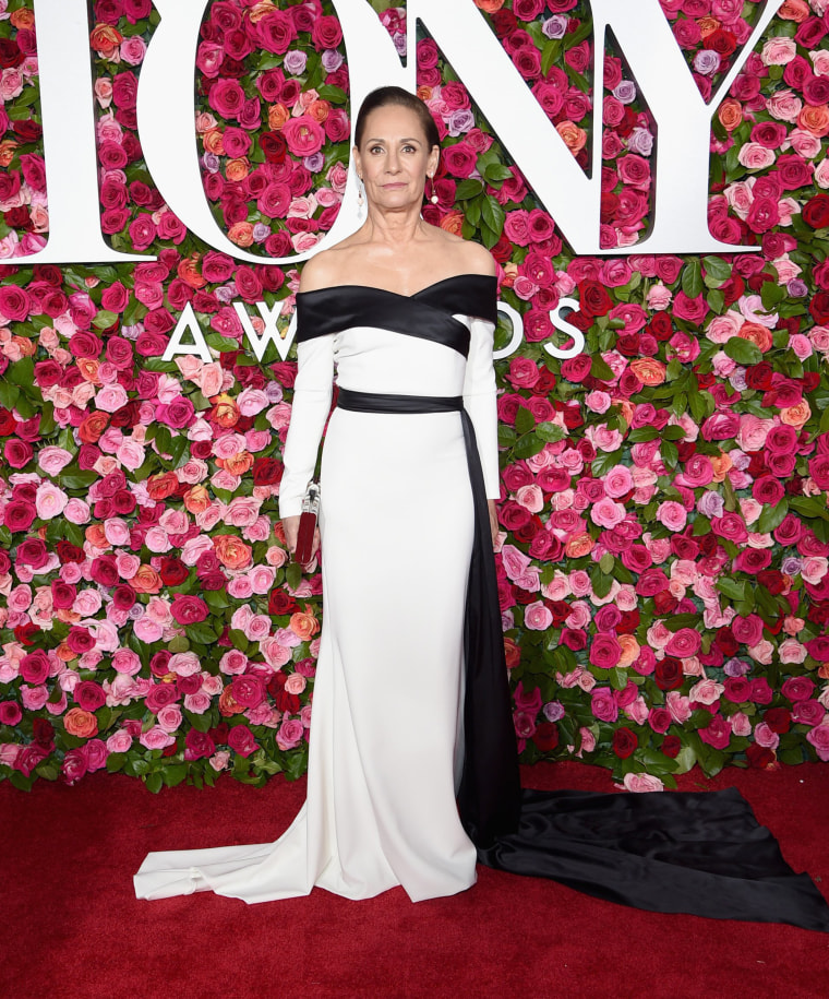 Laurie Metcalf attends the 72nd Annual Tony Awards