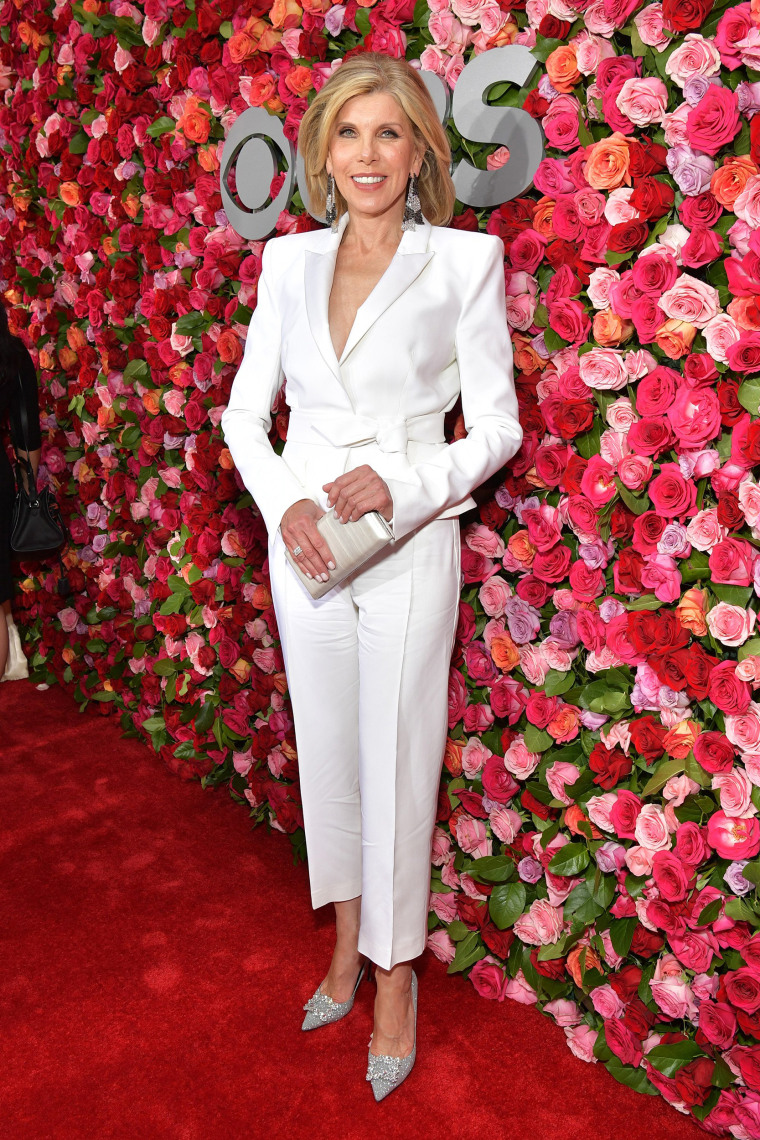 Christine Baranski attends the 72nd Annual Tony Awards