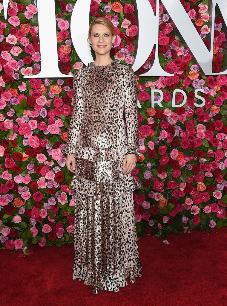 Claire Danes attends the 72nd Annual Tony Awards