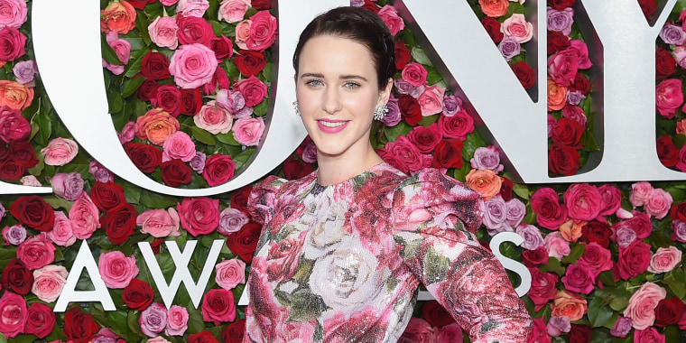 The Tony Awards were full of cheerful, floral prints.