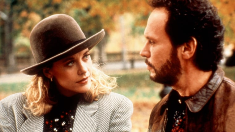 Meg Ryan with Billy Crystal in 'When Harry Met Sally'
