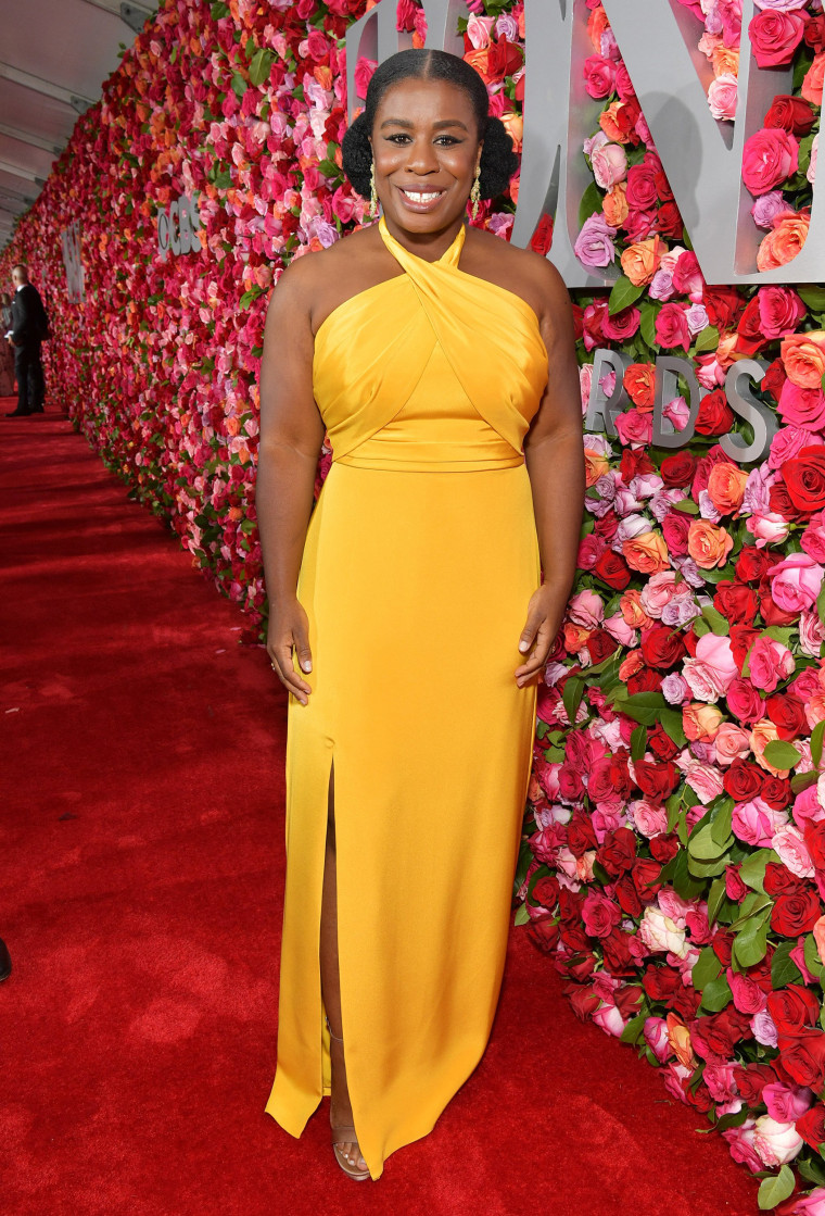 Uzo Aduba attends the 72nd Annual Tony Awards
