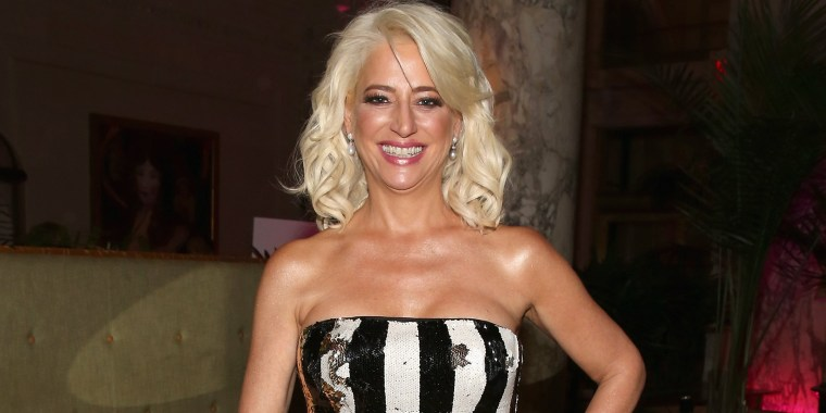 Dorinda Medley was almost unrecognizable with longer hair at the Tony Awards!