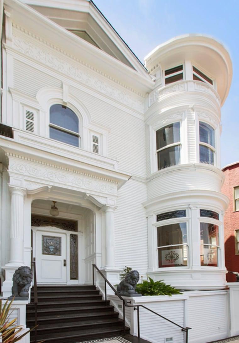 Nicolas Cage former San Francisco home
