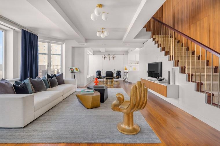 Keith Richards Patti Hansen apartment
