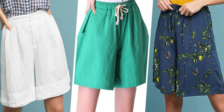 Mom shorts trend