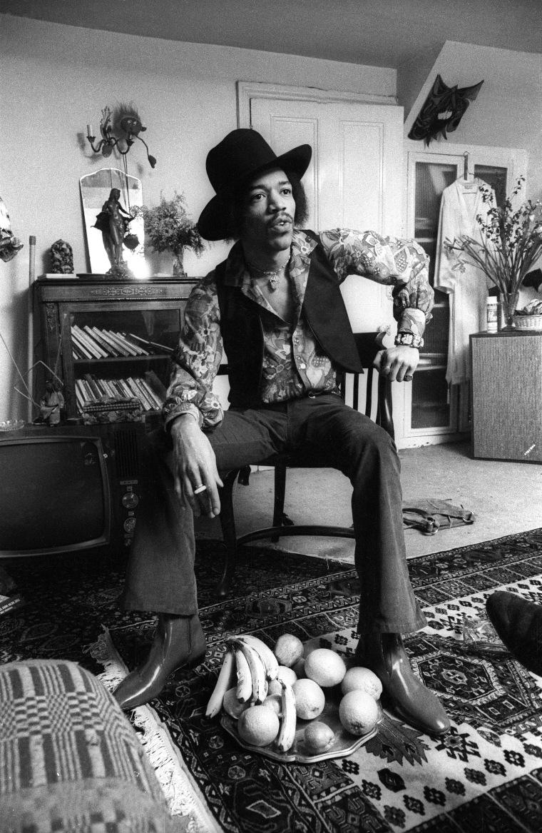 Jimi Hendrix apartment