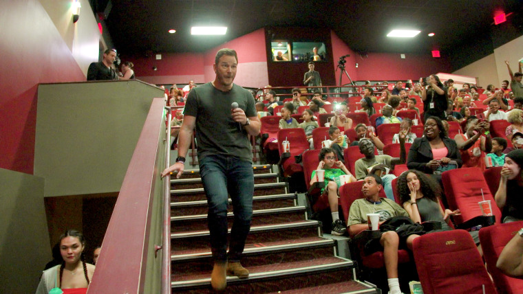 Kids from the Boys and Girls Clubs of America got a special surprise when Chris Pratt himself appeared.