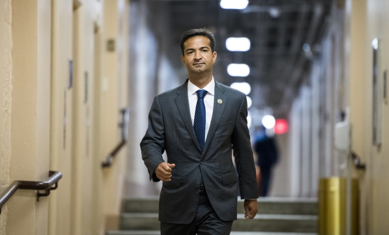 Image: Rep. Carlos Curbelo, R-Fla., arrives for the House Republican Conference meeting
