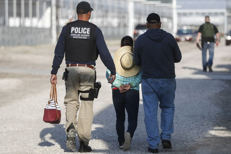 Image: Immigration sting