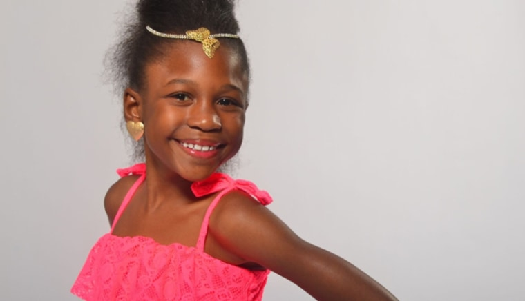 Ten year old Tymia McCullough lives with sickle cell disease