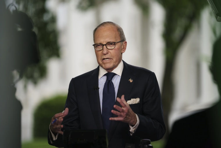 Image: White House chief economic adviser Larry Kudlow
