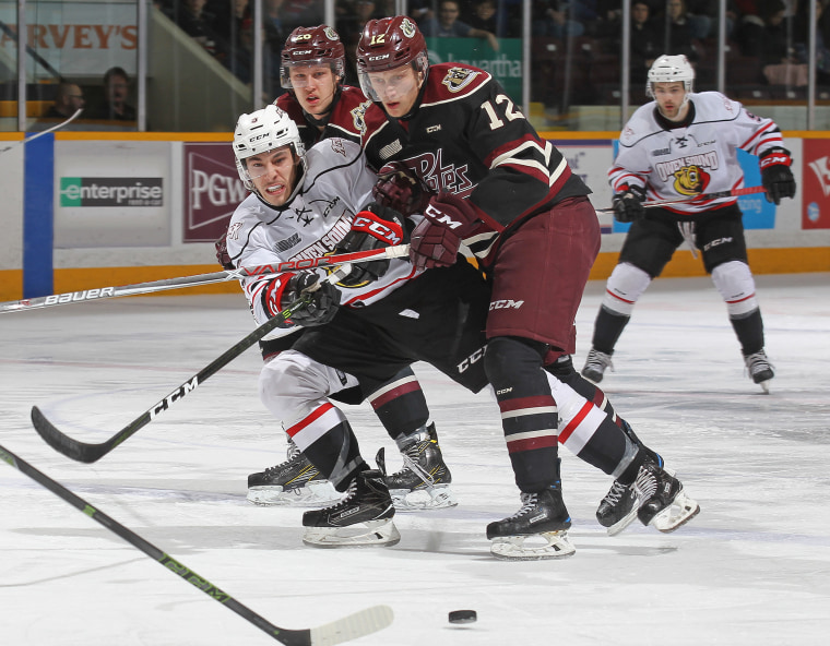 Owen Sound Attack v Peterborough Petes