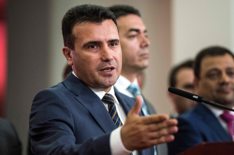 Image: Zoran Zaev