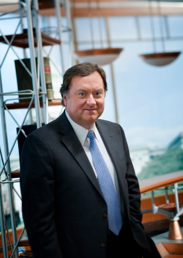 Tim Russert Portrait Session