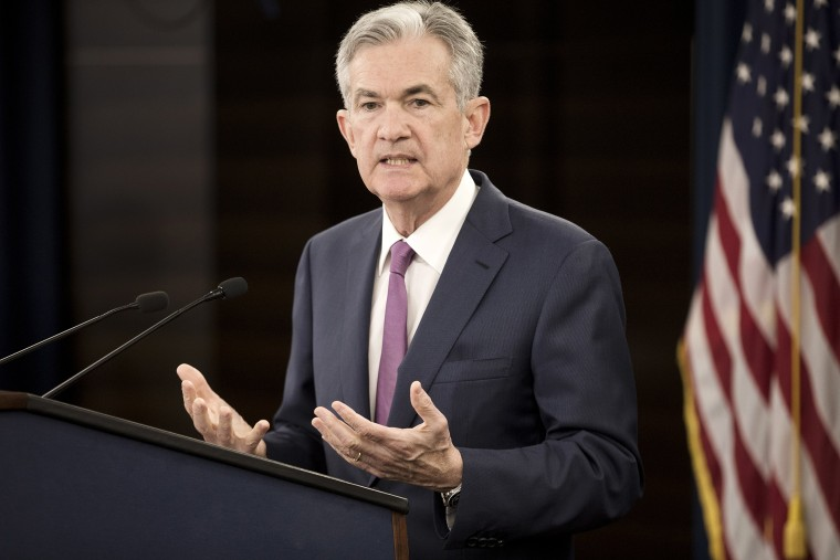 Image: US Federal Reserve Board Chairman Jerome Powell