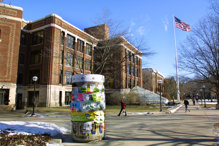 Image: Exterior View Of The University Of Michigan Campus